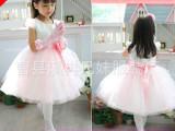 女童公主裙 表演出裙连衣裙蓬蓬裙 夏季花童礼服儿童婚纱裙