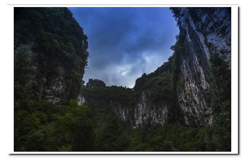 天坑三桥 龙水峡地缝一日游