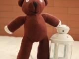 正版mr bean憨豆先生的泰迪熊憨豆熊毛绒玩具公仔搞怪儿童节礼