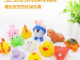 宝宝洗澡玩具 儿童水上戏水玩具 捏捏叫戏水玩具 可爱小动物0.1