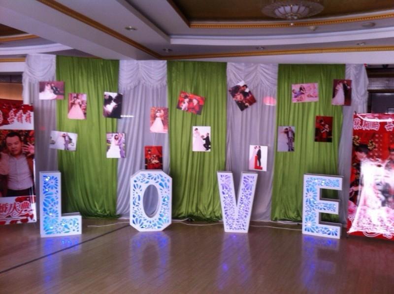 海涛礼仪将为您打造一个浪漫温馨的婚礼生日宴会