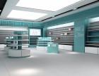扬州药店装修设计,药房展示柜定制
