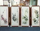 广州天河东圃字画装裱装框书法卷轴定制画框实木框十字绣框