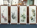 广州天河海珠萝岗书画装裱字画裱框画框十字绣定制相框