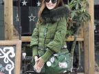 2014秋冬女装新款 欧美品牌羽绒服女 大码羽绒服女款批发18-218