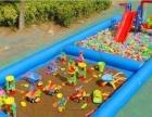 儿童水上乐园 充气游泳池 支架水池 水上冲关 水上滑梯组合