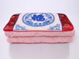中国风沙发靠枕被复古棉麻福字抱枕被礼品促销广告抱枕定制加工