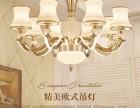 武汉灯具市场客厅吊灯价格湖北建材城吊灯安装