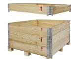 苏州木包装箱厂家直销 钢带箱/花格箱/出口木箱/免熏蒸