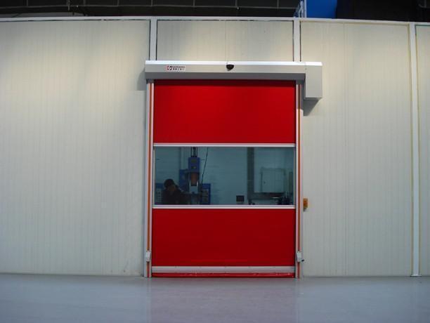 湖南益阳PVC快速卷帘门防尘净化快速卷帘门快速提升门安装