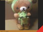 【热卖礼品】日本rilakkuma EXO最爱礼物 轻松熊抱龙毛绒公仔