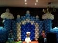开业拱门百日宴儿童生日创意气球造型小丑魔术泡泡表演氦气球