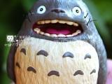 日本宫崎峻 TOTORO 开心大笑龙猫 树脂工艺品摆件