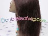 前蕾丝假发,印度割原发,全手工假发,头套