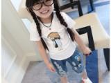 4元夏季新款童T恤 儿童纯棉短袖T恤 外贸原单男女童装打底衫
