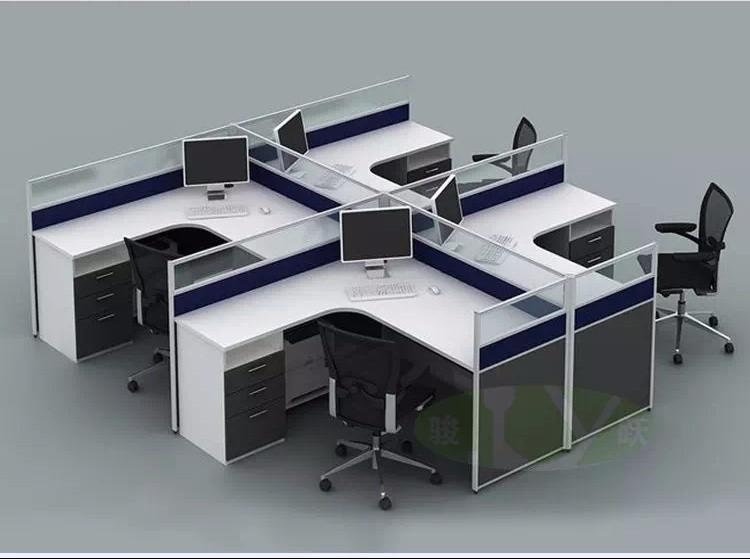 广州从化家具定制各类板式家具文件柜衣柜办公台卡位职员办公桌椅