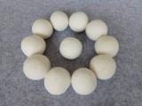 厂家直销羊毛干燥求 彩色毛毡球 7cm diy