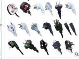 PVC/自产自销/黑色环保阻燃45P-60P插头料/电线料