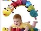 婴儿益智玩具lamaze拉玛泽玩具音乐+BB器+响纸超大号毛毛虫
