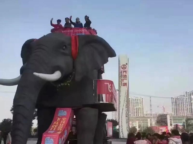 大同机械大象价格,巡游机械大象出租,VR天地行出租价格