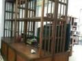 二手实木家具 红木家具 欧式家具 实木茶台 博古架 屏风收售