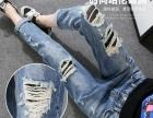 五元牛仔裤批发潮流牛仔裤批发厂家尾货牛仔裤处理春秋款牛仔裤