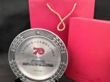 上海獎杯定制70周年慶獎杯獎牌徽章定制水晶獎杯定制樹脂獎杯