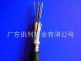 监控8芯光纤线 单模室外光缆 24芯光纤