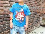 纯棉儿童背心批发厂家童装T恤批发儿童服装
