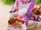 哈喽古力饼干巧克力 蘑菇头巧克力  造型