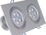 10W长方形天花灯 2头10W大功率天花灯厂家生产质量保证