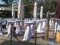 深圳东莞惠州吧台桌鸡尾酒吧桌铝合金高脚桌洽谈小圆桌出租赁