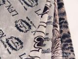 厂家供应 优质仿超柔短毛绒 印花短毛绒面料 超柔短毛绒涤纶经编
