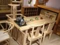 供应老榆木茶桌茶台茶几实木功夫泡茶桌椅组合客厅茶桌茶艺桌