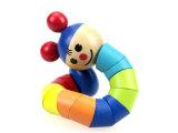 宝宝益智玩具 木制儿童玩具 百变扭扭人 彩虹人 毛毛虫 早教玩具