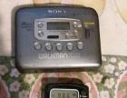日本原装索尼随身听和爱娃收音机