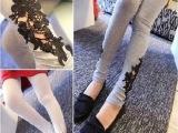 孕妇装春夏装新款时尚脚边孕妇裤 镂空孕妇打底裤 显瘦托腹裤跑量