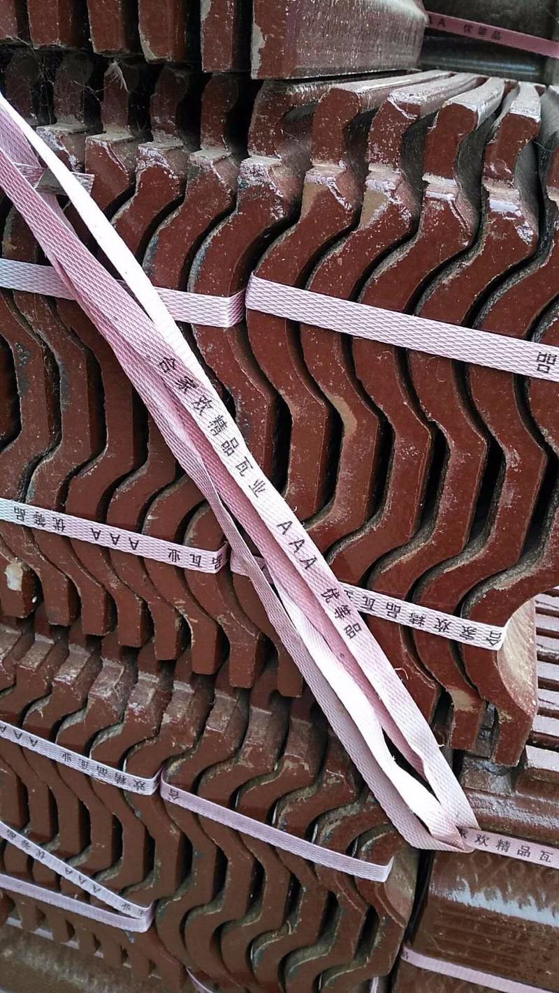 红瓦兰瓦脊瓦黑瓦灰瓦厂家直销烧结砖广场砖劈开砖