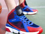 春夏新款网面透气篮球鞋 减震耐磨男运动鞋