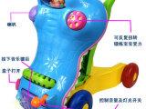 童车奥乐宝儿童多功能鳄鱼学步车二合一婴儿车助步车婴儿学步车