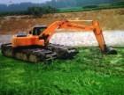 江南咨询黄冈市水陆挖机出租水陆挖掘机租赁服务范围