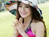 夏季帽子女士草帽可折叠太阳帽圆顶遮阳韩版帽大沿防晒沙滩帽hat
