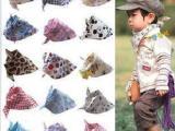 猿人头儿童三角巾宝宝口水巾头巾百余款三角婴儿纯棉方巾37-54