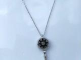 爆款首饰铜钥匙女款项链 饰品制造商销售 欢迎大批量生产