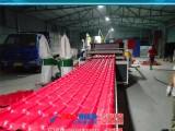 pvc树脂合成瓦设备塑料集成瓦生产线
