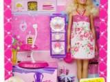 正版美泰芭比娃娃 女孩过家家玩具礼服套装 X3497 品牌玩具批