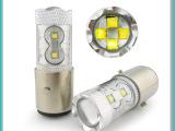厂家批发1156/1157 60W LED汽车转向灯刹车灯倒车灯
