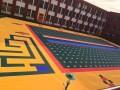 幼儿园双层软质悬浮地板 幼儿园米字格悬浮地板