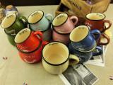 zakka杂货 复古创意陶瓷大肚杯子 韩式早餐牛奶杯咖啡杯 logo定制