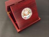 所谓千足银 西安纯银纪念币定做 企业周年庆礼品供应商 纯银章